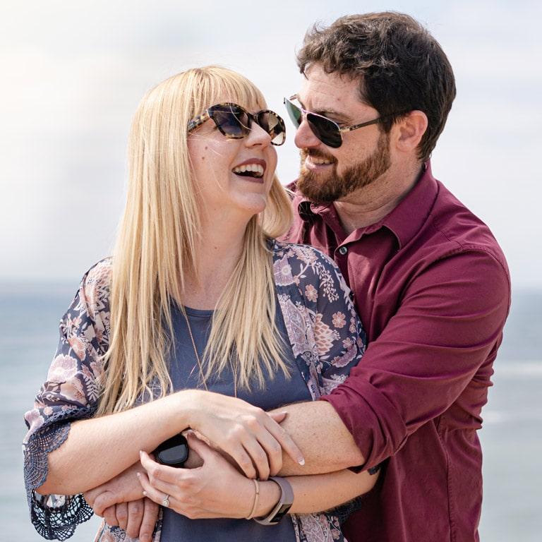 Hormone Balance Nutritional Therapist San Diego Couple Hugging